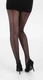 Pamela Mann, Black seamed tights