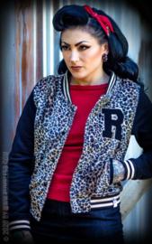 Rumble 59, Ladies Leo Sweat College Jacket.