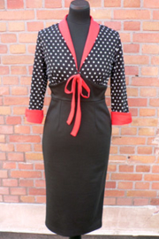 Lily Scarlet,  Polkadot Dress in Medium.