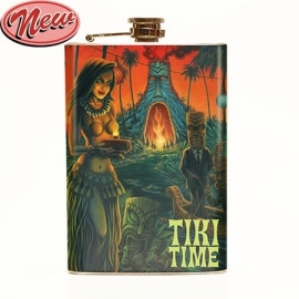 Retro a Gogo, P'gosh Tiki Time Flask.