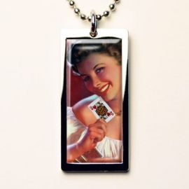 Retro a Gogo, Pinup Girl Queen of Hearts Ketting.