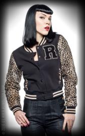 Rumble 59, Ladies Sweat College Jacket Leo Patch.