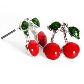 Cherry Earstuds.