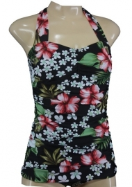 Aloha Beachwear, Vintage Pinup Bathing Suit Hawai.