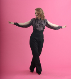 Lady K Loves, Rosie Trousers in Black.