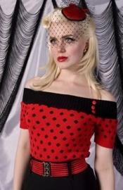 Miss Fortune, Elastic Belt in Red