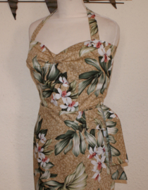 Outerlimitz, Hawaiien Sarong Dress in Large.