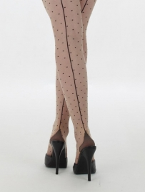 What Katie Did, Retro Seamed Dot Tights.