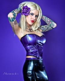 Lila Jo Rose in Purple.
