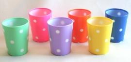 Kitsch Kitchen Polkadot Drinking Cup.