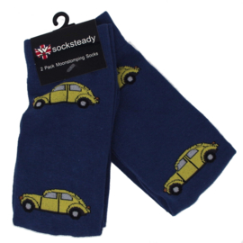 Warrior, 2 Pack Mens VW Beetle Socks.