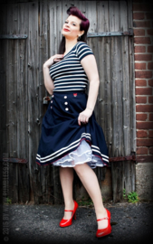 Rumble 59, Petticoat Skirt Ahoy Sailor in medium.