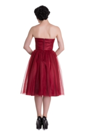 Hell Bunny, Tamara Party Dress in Red.