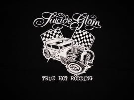 Suicide Glam, True Hot Rodding T-Shirt.