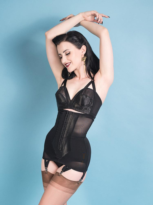 What Katie Did, Longline Glamour Nouveau Girdle.