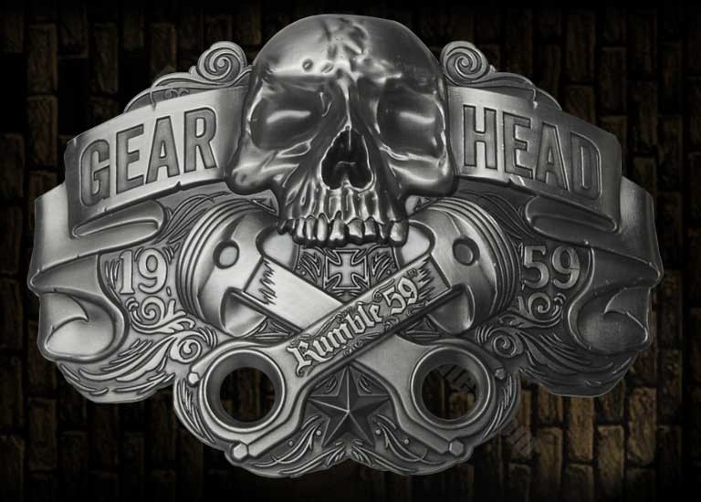 Rumble 59, Buckle Gear Head.