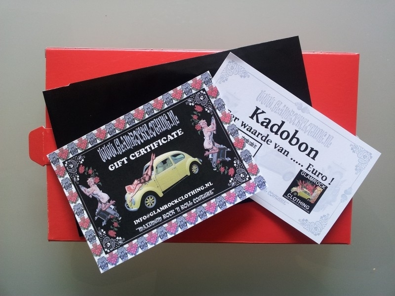 Gift certificate starting from 5 euros.