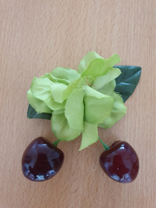 Green Cherry Clip.