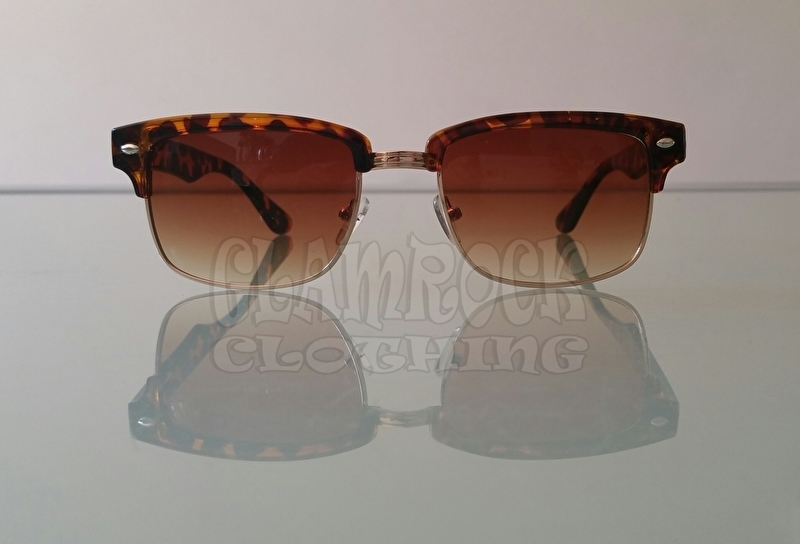 Revive, Clubmaster Square in Brown Turtle.