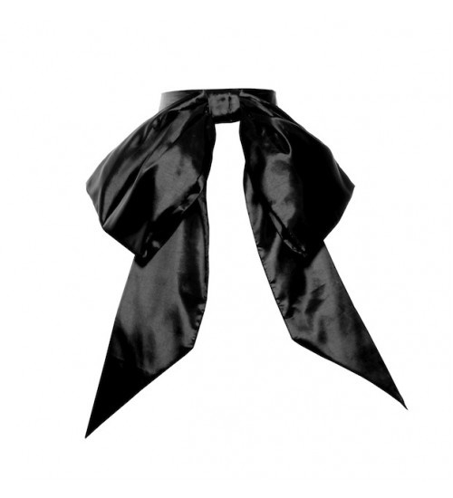 Glamour Bunny, Bow in Black.