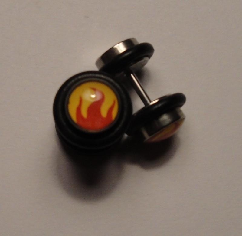"""Fake plug  """"Flames"""""""