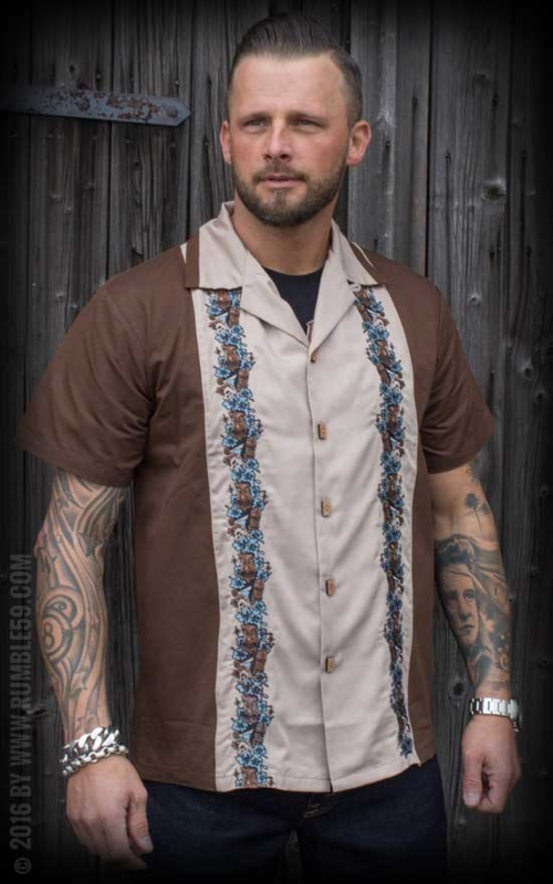 Rumble 59, Lounge Shirt Aloha Tiki.