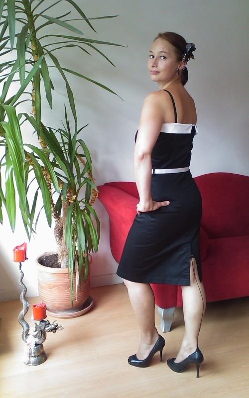 Illicit, Marilyn Dress in Black.