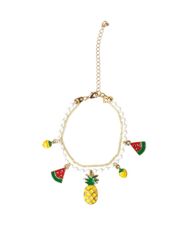 Collectif, Tutti Frutti Charm Bracelet