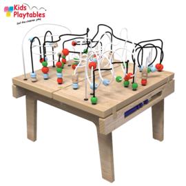 Kralentafel Speeltafel Kidsplaytables blank gelakt