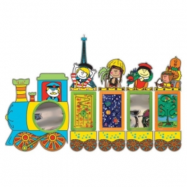 Wandspeelsysteem Happy Train