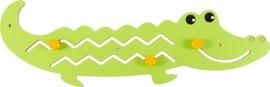 Wand-Spelpaneel Krokodil