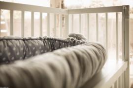 Ledikant Bedkant Wit | Co sleeper | Baby bed | Peuterbed | Kinderbed | Wieg | Bijzetbed | Kinderkamer | Kinderopvang