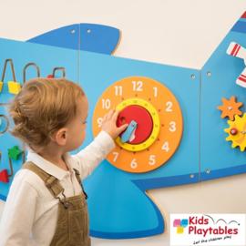 Wandspelpaneel Vliegtuig 5-delige set
