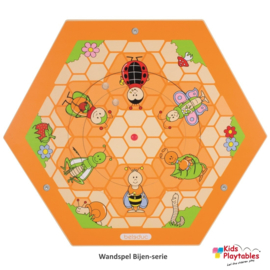 Wandspeelbord Bijenkorf Bijenweide