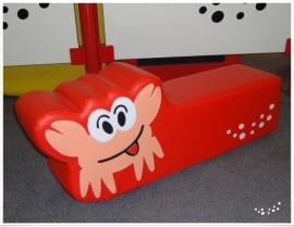 Zacht Speelelement Krab