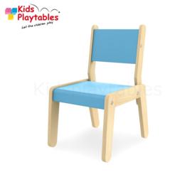 Kinderstoel - Schoolstoel-Simple kleur blauw