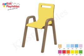 Houten stoel , stapelstoel , kinderstoeltje Dani