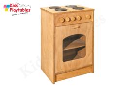 Kinderkeuken Speelgoed keuken | 4-pits Fornuis voor Kleuters voor de kinderopvang