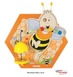 Wand Spelpaneel Bijenkorf Bij