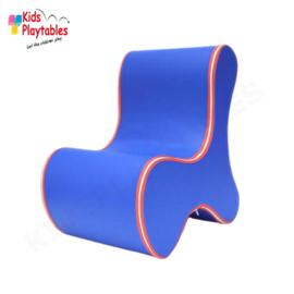 Design Kinderstoel, Kinderzetel Ozo Bone in de kleur Donkerblauw