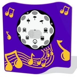 Wandspel voor buiten Muziekpaneel Drum's