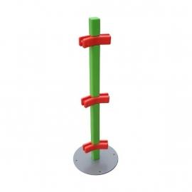 Paaltje voor kinderhoek hekwerk 150 graden