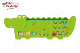 Wandspel | Wandspeelbord Krokodil