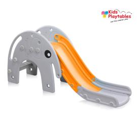Kinderglijbaan Olifant glijbaan buitenspeelgoed grijs -oranje