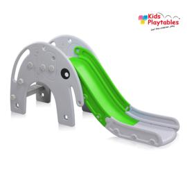 Kinderglijbaan Olifant glijbaan buitenspeelgoed grijs -groen