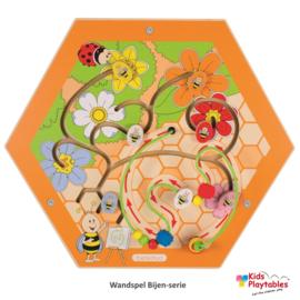 Wand Spelpaneel Bijenkorf Honingraat