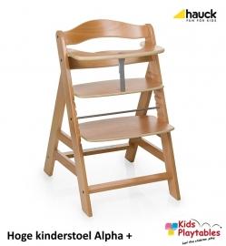 Hoge Kinderstoel Hauck Alpha Plus Blank gelakt