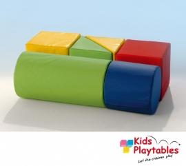 Reuze Foam Speelblokken Uitbreidings set 1