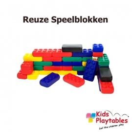 Reuze Speelblokken voor uw Speelhoek Voordeelset 212 stuks