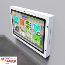 Touchscreen Spelcomputer wandspel 43 inch wit